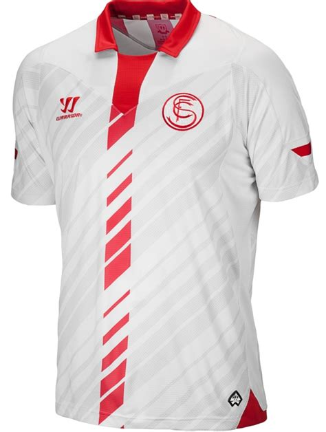 New Sevilla Kits 2013 2014  Warrior Sevilla FC Home Away ...