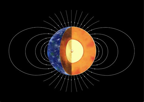 New study indicates Earth s inner core was formed 1   1.5 ...