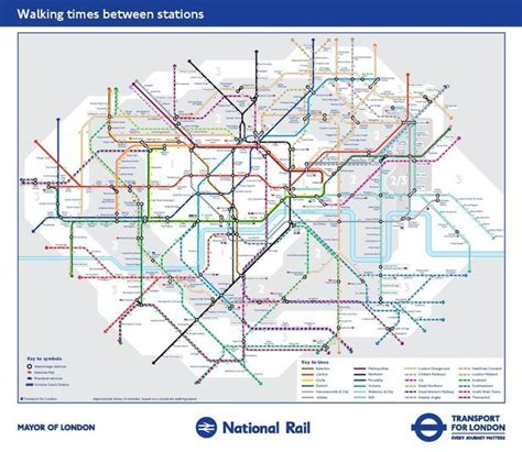 New Tube map shows walking between stations may be quicker ...