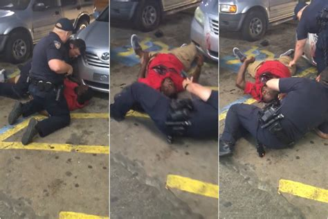 New video shows moment cop shoots restrained Louisiana man