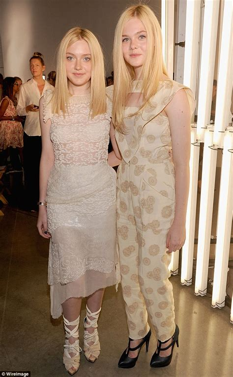 New York Fashion Week 2011: Elle Fanning, 13, towers over ...