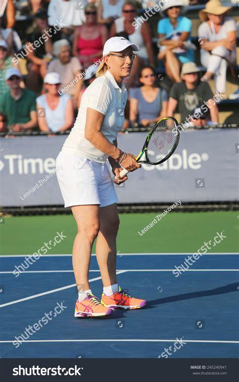 New York   September 4, 2014: Grand Slam Champion Martina ...
