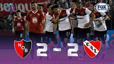 Newell s   Independiente [2 2]   GOLES   Superliga ...