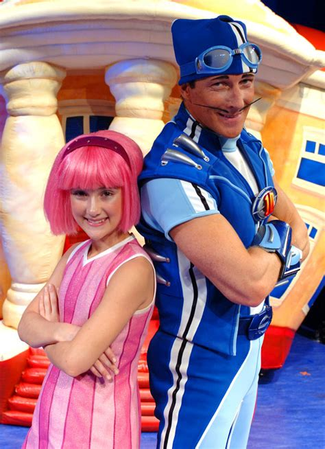 News and entertainment: lazy town  Jan 06 2013 09:50:30