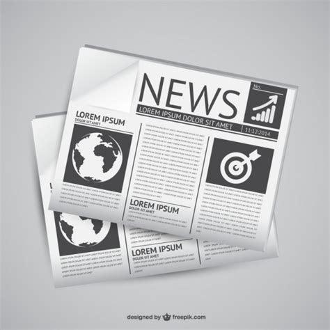 Newspaper Vectors, Photos and PSD files   Free Download