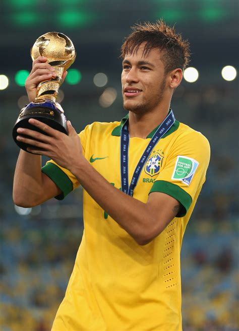 Neymar Da Silva Shines In Confederations Cup Final ...