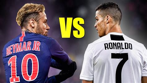 Neymar Jr vs Cristiano Ronaldo Skills Battle | Who s the ...
