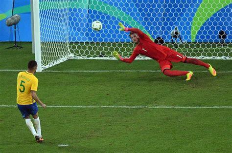 Neymar kicks for gold and Brazil's pride in win over ...