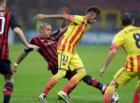 Neymar Photos Photos   AC Milan v FC Barcelona   Zimbio