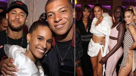 Neymar y Kylian Mbappé disfrutaron de una fiesta entre top ...