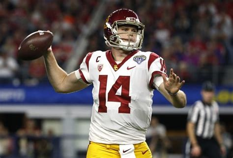 NFL scouting combine 2018: USC QB Sam Darnold reportedly ...