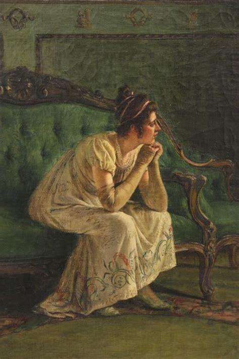 NICOLÁS ALPERIZ  1865 1928 ., ESCENA DE GÉNERO., Óleo sobre li