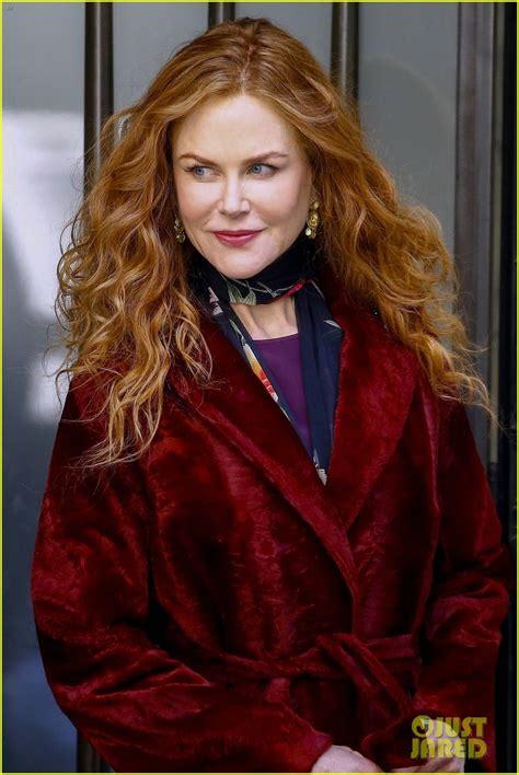 Nicole Kidman Films HBO Series  The Undoing  in New York ...