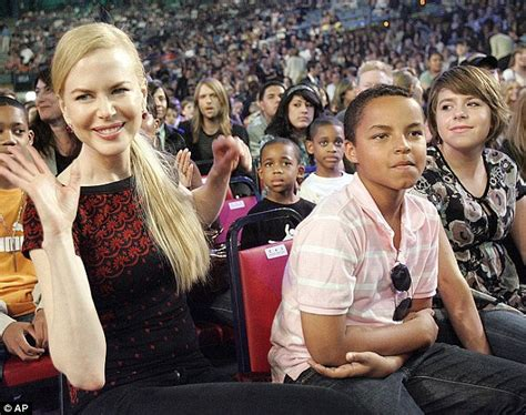 Nicole Kidman hints children adopted with Tom Cruise may ...