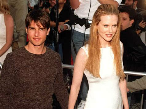Nicole Kidman on marrying Tom Cruise at age 23:  I look ...