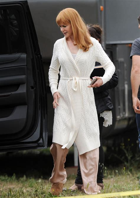 Nicole Kidman On The Set Of HBO Series Big Little Lies In ...