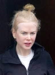 Nicole Kidman with minimal makeup and no hair styling ...