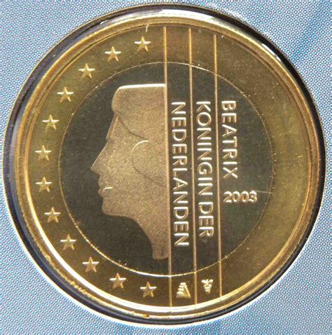 Niederlande 1 Euro Münze 2003   euro muenzen.tv   Der ...