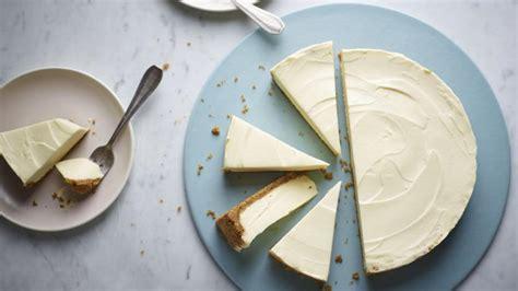 Nigella s white chocolate cheesecake recipe   BBC Food