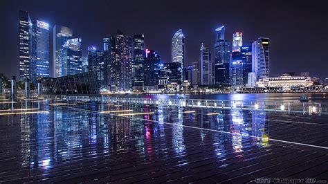 Night Lights City. Immagini widescreen di città e paesi ...