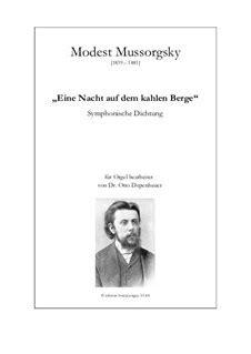 Night on Bald Mountain by M. Mussorgsky   sheet music on ...