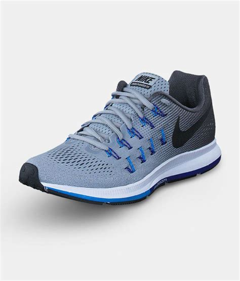 Nike Air zoom 33 pegasus Gray Running Shoes   Buy Nike Air ...