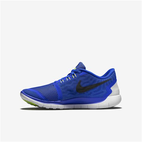 Nike Boys Free 5.0+ Running Shoes   Game Royal ...