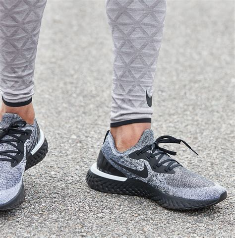 Nike Epic React Flyknit Running Shoes in Gray for Men   Lyst