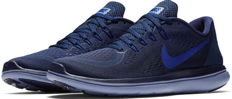 Nike Flex 2017 Rn Running Shoes in Navy Blue  Blue  for ...