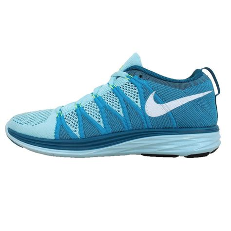 Nike Flyknit Lunar2 Running Trainers 620658 414 Sneakers ...