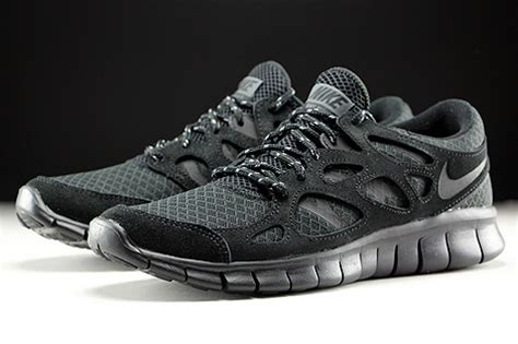 Nike Free Run 2 Black Dark Grey 537732 020   Purchaze