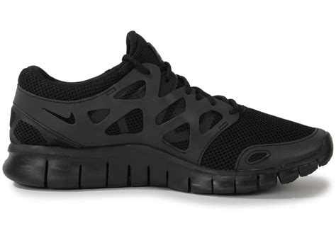 Nike Free Run 2 Noire   Chaussures Homme   Chausport
