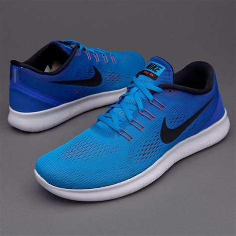 Nike Free Run   Blue Glow/Black Racer Blue Bright Crimson ...