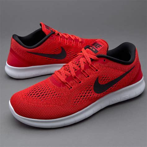 Nike Free Run   Mens Shoes   Univresity Red/Black Total ...