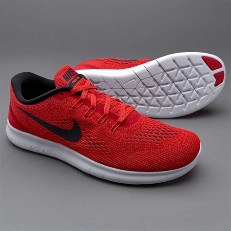 Nike Free Run   Mens Shoes   Univresity Red/Black Total ...