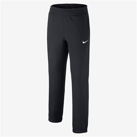Nike Kids Boys Sports Running Tracksuit Bottoms Black Navy ...