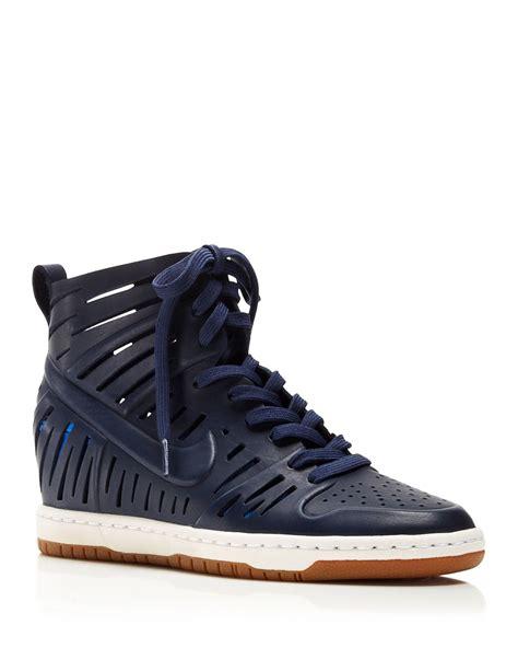 Nike Lace Up Wedge Sneakers   Women S Dunk Sky Hi 2.0 Joli ...