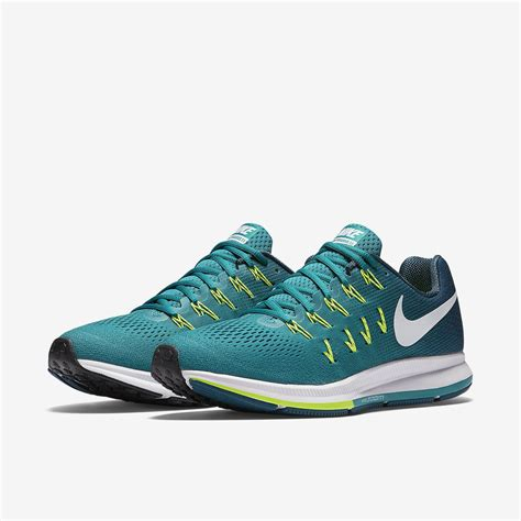 Nike Mens Air Zoom Pegasus 33 Running Shoes   Rio Teal ...