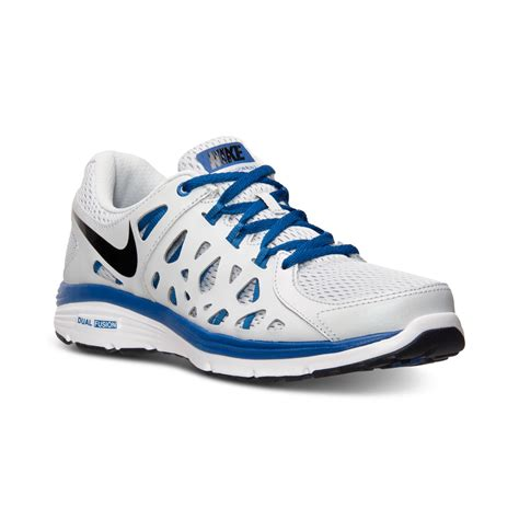 Nike Mens Dual Fusion Run Running Sneakers From Finish ...