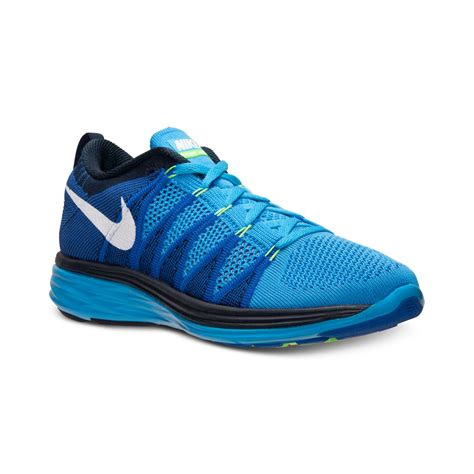Nike Mens Flyknit Lunar2 Running Sneakers From Finish Line ...