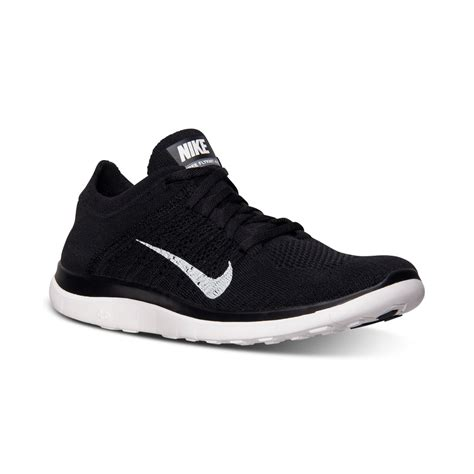 Nike Mens Free Flyknit 40 Running Sneakers From Finish ...