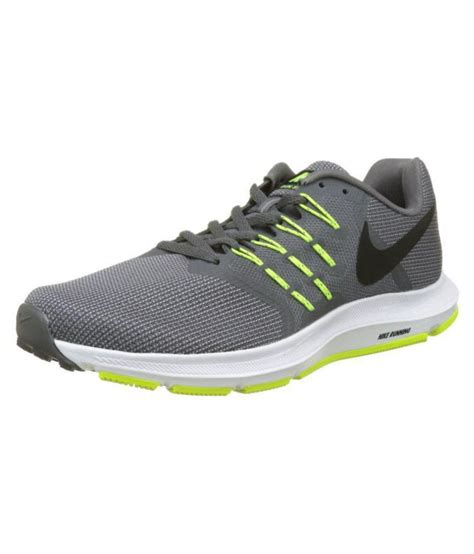 Nike Run Swift Gray Running Shoes   Buy Nike Run Swift ...