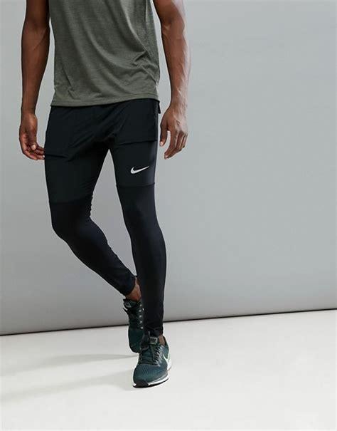 Nike Running hybrid joggers in black aa4199 010 | ASOS
