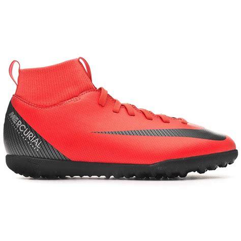 Nike SuperflyX 6 Club CR 7 TF Junior rojas |futbolmaniaKids