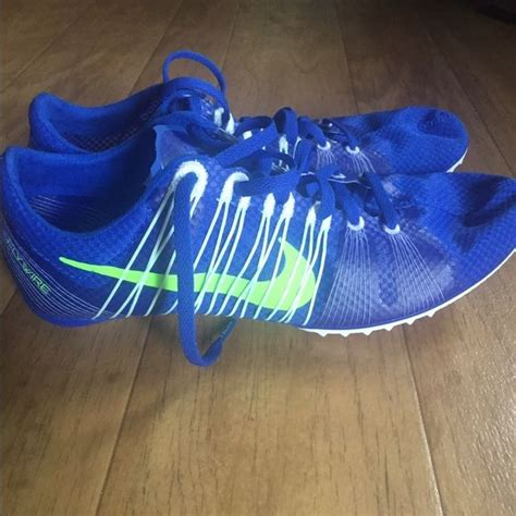 Nike victory 2 track spikes Blue nike long distance spikes ...