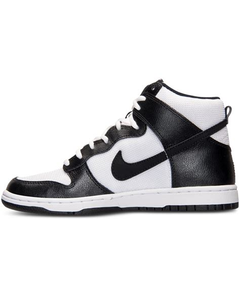 Nike Women S Dunk High Skinny Casual Sneakers From Finish ...