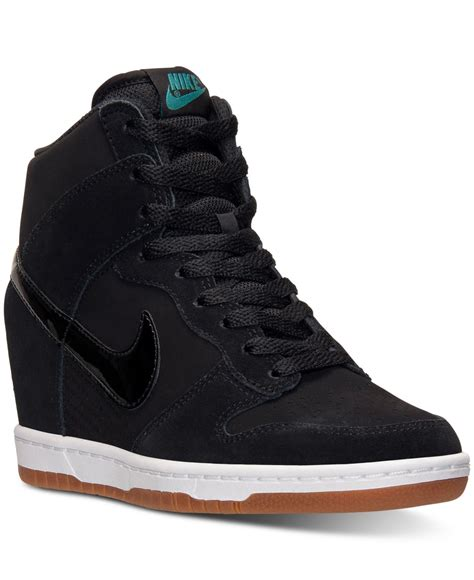 Nike Women s Dunk Sky Hi Essential Casual Sneakers From ...