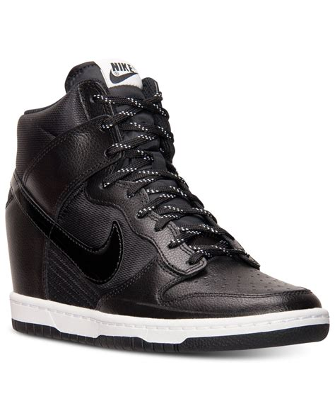 Nike Women s Dunk Sky Hi Essential Sneakers From Finish ...