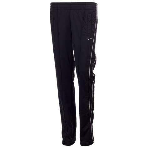 Nike Women s Full Zip Tracksuit Top Joggers Black White ...