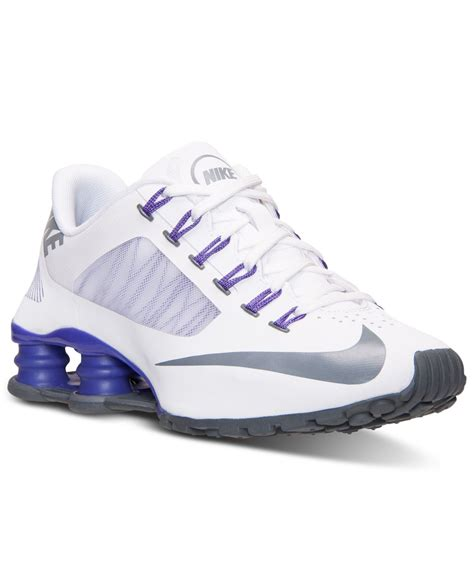 Nike Women S Shox Superfly R4 Running Sneakers From Finish ...